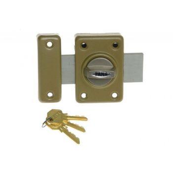 Rim Lock ZDD 3 Keys - Gold Yellow