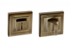 Escutcheon Square WC (BETA) - Patina