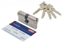Cylinder lock Abus Pfaffenhain Standard 30/35 pearl nickel (5 serrated keys) 6.2 C class