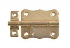 Latch 384-40 brass (12-pack) 2 sort