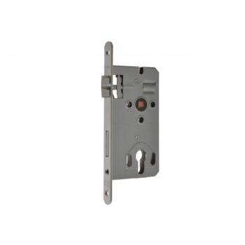 KABA mortise lock 72/50 WB   silver galvanized