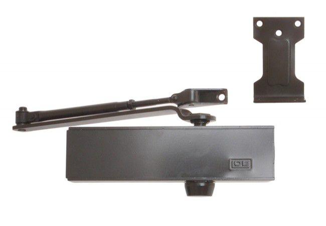 Door Closer LOB S 2000 with Arm EN 2/3/4/5 - Brown