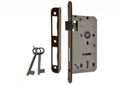 Mortise Lock 72/50, BB with lever and 2x keys