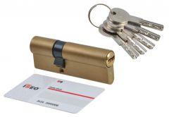 Cylinder lock ISEO R6 9/60 brass