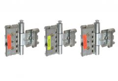 Hinge BAKA PROTECT 3D MSTS with protection (for doors with seals in fr