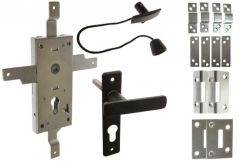 Mortise Lock KASTEL-4 with Universal Rods