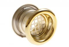 Ventilation Sleeve, Diameter: 40 TW - Gloss Gold (1piece)