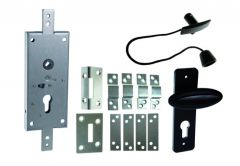KASTEL-1 Lock with Vertical Rods