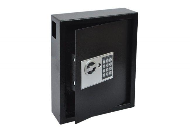 Combination Locker Cabinet Deposit for 44 Keys (300x365x100mm) - Black