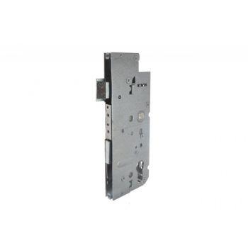 Main Mortise Lock 72/55 for multipoint Lock, Universal, White Galvaniz