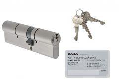 Kaba Gege pExtra plus cylinder 30/30 Nickel, 6.2 C class certificated