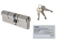 Kaba Gege pExtra plus cylinder 30/30 nickel, 6.2 C class certificate