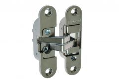 Invisible Hinge PO2, 3D Left - Nickel