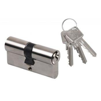 Cylinder lock LOB ARES WS54 40/40 Nickel