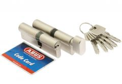 Cylinder SET ABUS D10+KD10NP 30/30 + 30K/30 nickel pearl 5.2 class