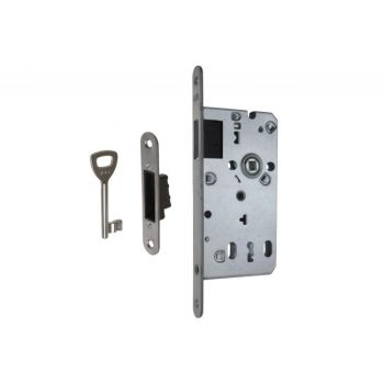 Magnetic Mortise Lock LOB Z75MZ-K00 72/50/20, BB - Stainless Steel, ad