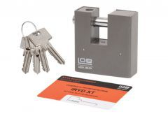 Padlock with Straight Shackle LOB IRYD XT (KT601) 4 Class certificated
