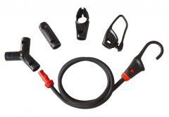 Uniwersalne elastyczne pasy bagażowe ABUS SB 15 (6 linek, 8 końcówek)