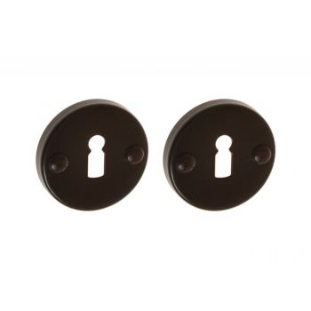 Escutcheon, Round, BB - Brown
