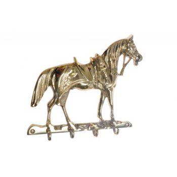 Key Hook KOŃ - Brass