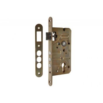 Mortise Lock ZT7514B 72/50, bolts, Galvanized with srtriking plate