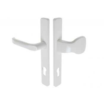 Handle with Pull SATURN 32 92/240 PZ - White