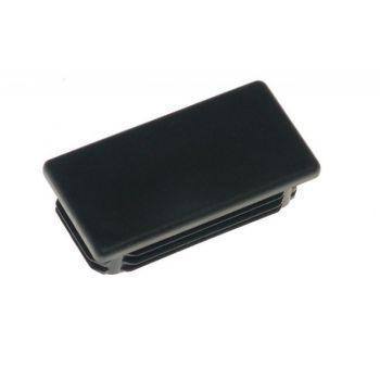 Rectangular Hole Plug ZP 40x80 - Black