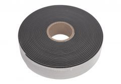Tape for sealing windows compressed 54/5-30 mm, one side self-adhesive, black, HANNOBAND