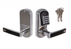 Combination Lock with Handle DIGIT 03, Right, Stainless Steel, Spindle: 7/7mm (13,56 MHz)