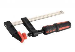 Adjustable Screw Cramp MPT with plastic handle, 50x150mm MHH03002-150