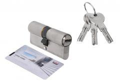 Door Cylinder DORMA DEC 261 30/35, nickel 3 keys, certificatedd 6.2 C