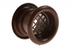 Ventilation Sleeve, Diameter: 40 TW - Brown (1piece)