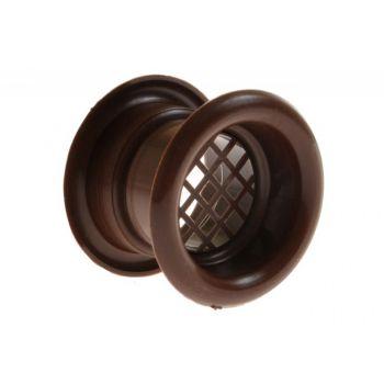 Ventilation Sleeve, Diameter: 40 TW - Brown (1piece)