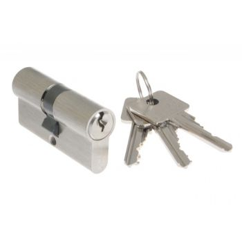 Cylinder lock B-Harko H6 30/70mm nickel satin 6-valve, 6.0 class