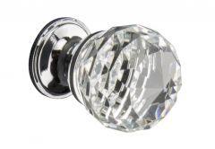 Furniture Handle KRYSZTAŁ ball 25mm - Chrome
