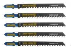 Jigsaw blades T 111C, IRWIN wood (5pcs)