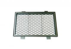 Large Doormat made of Wire (grill) 580x540 Framed and Galvanized