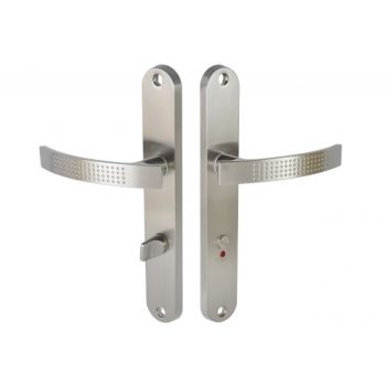 Handle DH-T-11-07 WC 72 Left - Nickel/Brushed