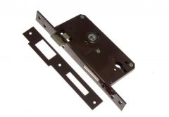 Insert Gate Mortise Lock - Lacquered Left
