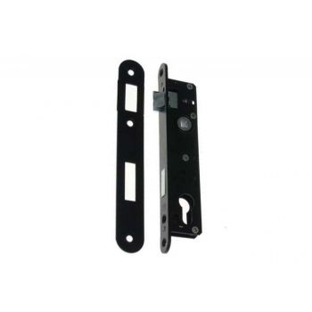 Mortise Lock 90/22 ZZB-3 PZ, 22 Left - Varnish