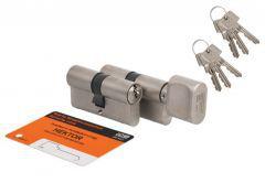 Cylinder SET HEKTOR 40knob 30+40/30 Nickel B class, 6keys