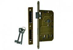 Mortise Lock 72/55, BB BOX, sand Varnish, Right