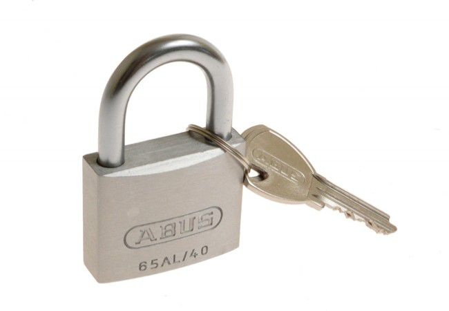 Padlock with Open Shackle ABUS TITALIUM 727TI series 50mm, 2 Keys set