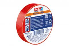 Insulating tape TESA   red   length 20m, width 19mm (53947-00008-15)