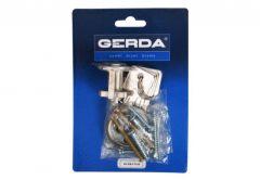 Cylinder for surface lock Gerda H Plus RIM nickel Satin (Blister Package)