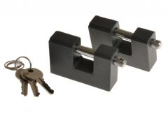 Padlock with Straight Shackle T2/10 Keyed Alike (2pcs)
