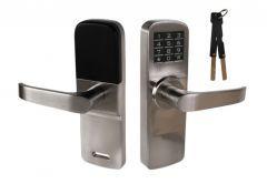 Electronic Door Handle DIGIT M5 with Code Panel - Nickel