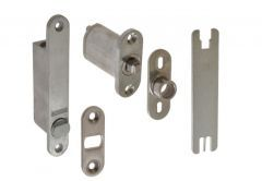Hinge PIVOTICA up/down for Revolving Non-Rebated Doors Satinless Steel