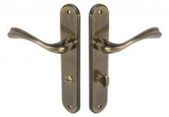 Door handle  INFINITY GLORIA 72 WC patina