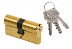 Cylinder lock LOB ARES WA54 30/40 Brass
